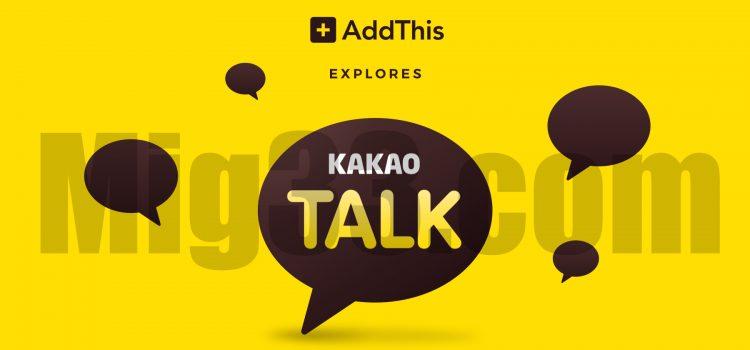 Aplikasi Chat KakaoTalk Ternyata Juga Bisa Lo Buat Bisnis!!