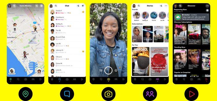 Cara Kerja Platfrom Chatting Snapchat